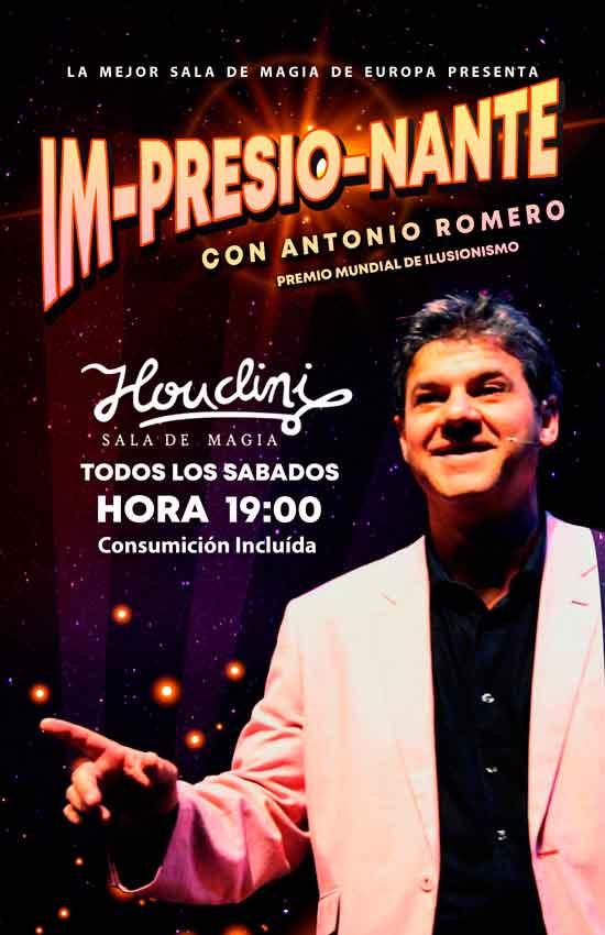 Actuación de Magia de Antonio Romero